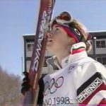 日本中が感動の涙 里谷多英 Tae Satoya 長野五輪女子モーグル金メダル 1998 冬季オリンピックで女性で初めての金メダル 1998 Naganoオリンピック.