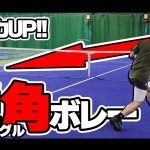 【テニス】鋭角ボレーで決定力UP!アングルボレーの極意〈ぬいさんぽ〉