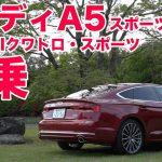 アウディA5スポーツバック2.0TFSIクワトロ・スポーツ【LOVECARS!TV!新車レビュー2017】