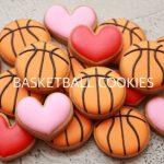 【アイシングクッキー】バレンタイン にも☆簡単なバスケットボールの作り方 Basketball Cookies