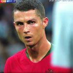 FIFAワールドカップ グループB ポルトガル vs スペイン C.ロナウドFK ゴール