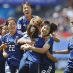 なでしこ、今大会初勝利 サッカー女子W杯フランス大会