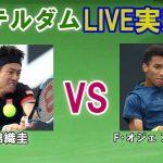 【錦織圭 vs F・オジェ アリアシム】 ABNアムロ世界テニス・トーナメント LIVE実況・副音声[Kei Nishiokri vs Felix Auger-Aliassime]