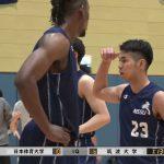 第56回日筑バスケットボール定期戦2021、男子本戦
