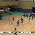 第56回日筑バスケットボール定期戦2021、女子jr戦