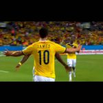 【名を世界に轟かせた試合】ハメス・ロドリゲス VS 日本代表 1G2A W杯2014