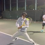 【テニス】両手バックを教える監督【ねぱモニ】【あるある】