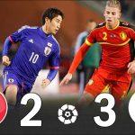 【世界に衝撃を与えた試合】サッカー日本代表、強豪ベルギーに3-2で勝利 2013