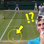 【テニス】華麗なロブを放つ選手TOP7
