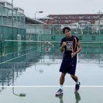 大雨の中だったらのむちゃんに勝てる【テニス】