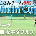 【テニス】予選リーグ 1対戦目<女子ダブルス>ピーチ/なで肩ペア!!