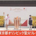 【LIVE】東京都オリンピック聖火リレー到着式(2021年7月23日)