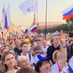 オリンピック 凱旋セレモニー ROC 選手団 モスクワ