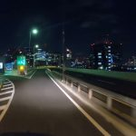 オリンピック期間中の首都高夜景を楽しむ