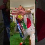 オリンピック イタリアチーム かめはめは 金メダル