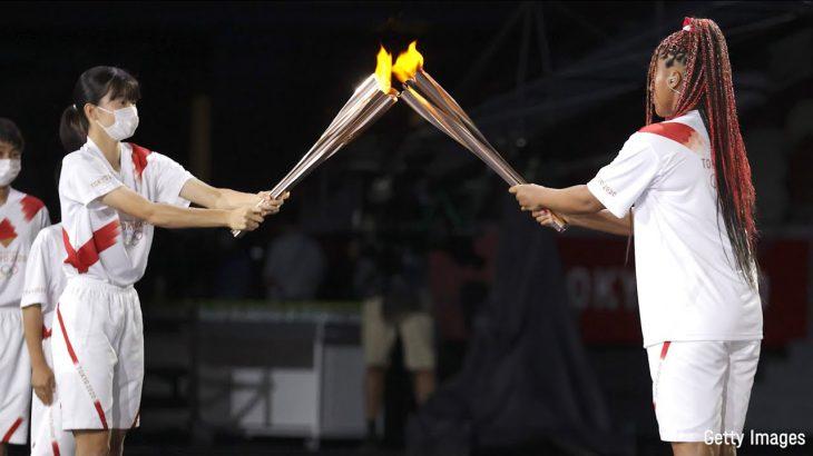 東京2020オリンピック聖火リレー 開会式を走った東北の子供たち