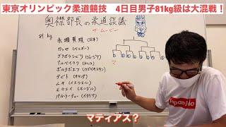 東京オリンピック2021 柔道競技 男子81kg級の予想です!