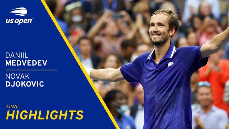 Daniil Medvedev vs Novak Djokovic Highlights   2021 US Open FInal