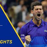 Novak Djokovic vs Alexander Zverev Highlights | 2021 US Open Semifinal