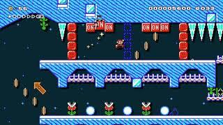 オリンピックSkiing/snow long speedrun♪ by ★Kyйю★キノ★S 🍄 Super Mario Maker 2 ✹Switch✹ #avl
