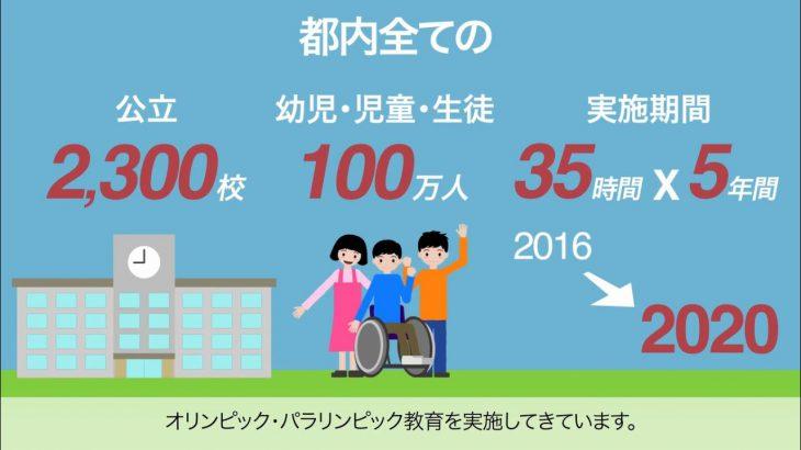 東京都オリンピック・パラリンピック教育プロモーションムービー