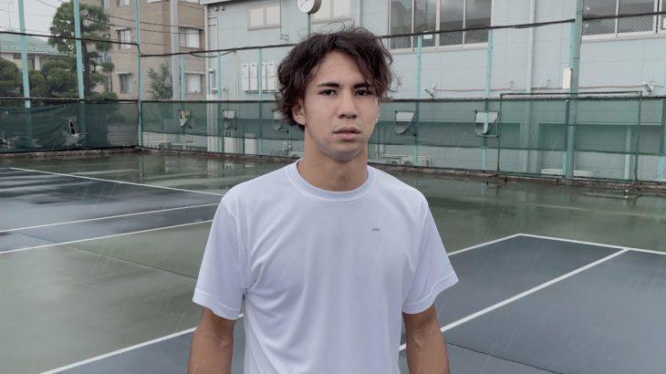 雨の中超盛り上がった後我に返る雰囲気【テニス】