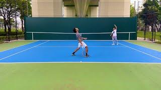世界一熱い壁打ちバトル【テニス】【部活】