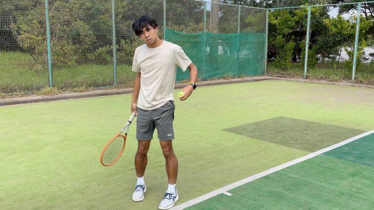 【テニス】ダブルフォルトされてスカしてるけど内心超喜んでる奴【TikTok】
