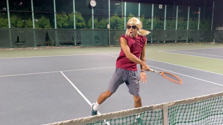 【テニス】ねぱ蔵 vs 謎の少女